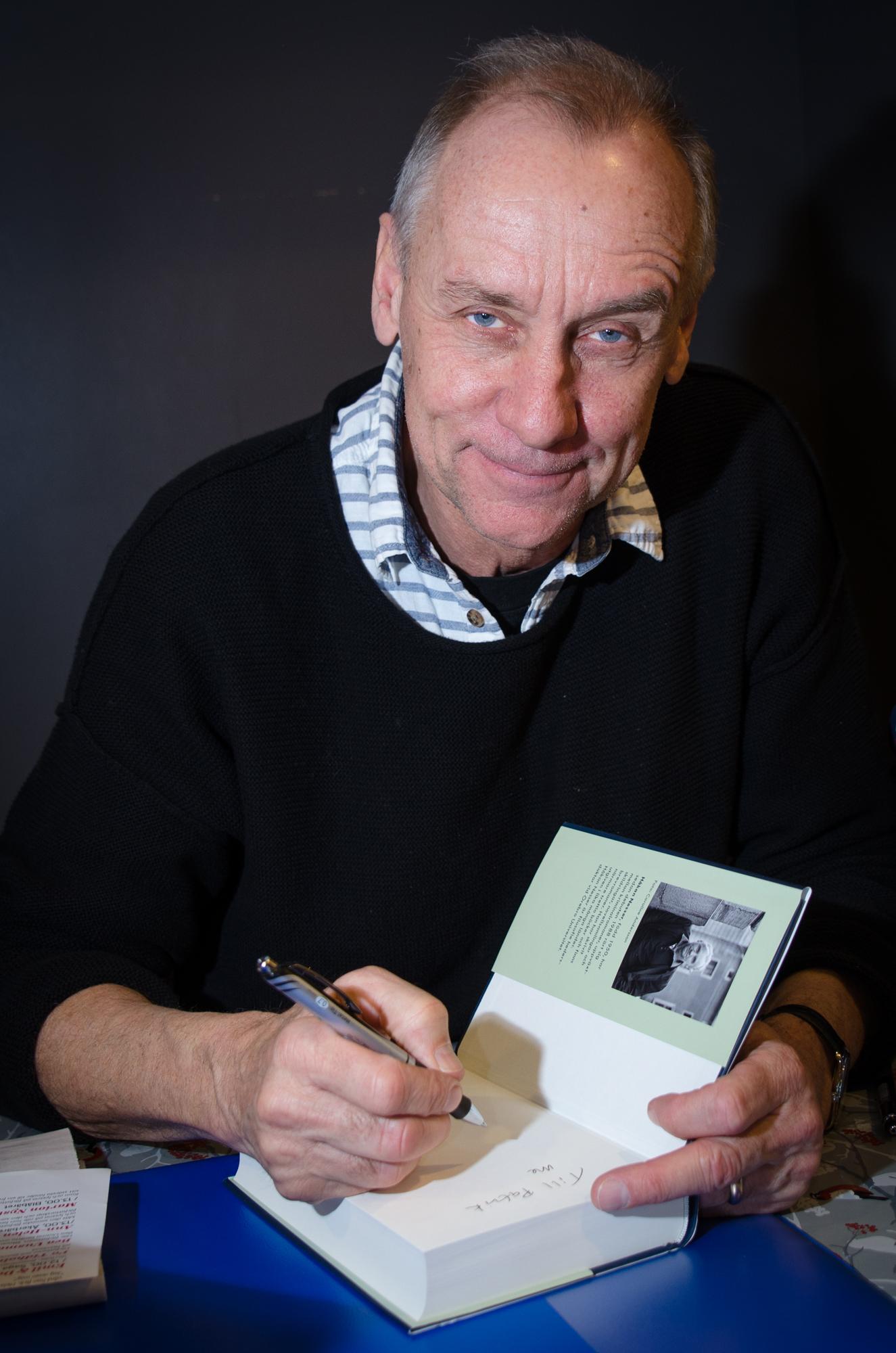 Håkan Nesser på Eyvind2016 i Boden