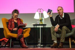 """Håkan Nesser berättar om sin senaste bok """"Eugen Kallmanns ögon"""" på Eyvind2016"""