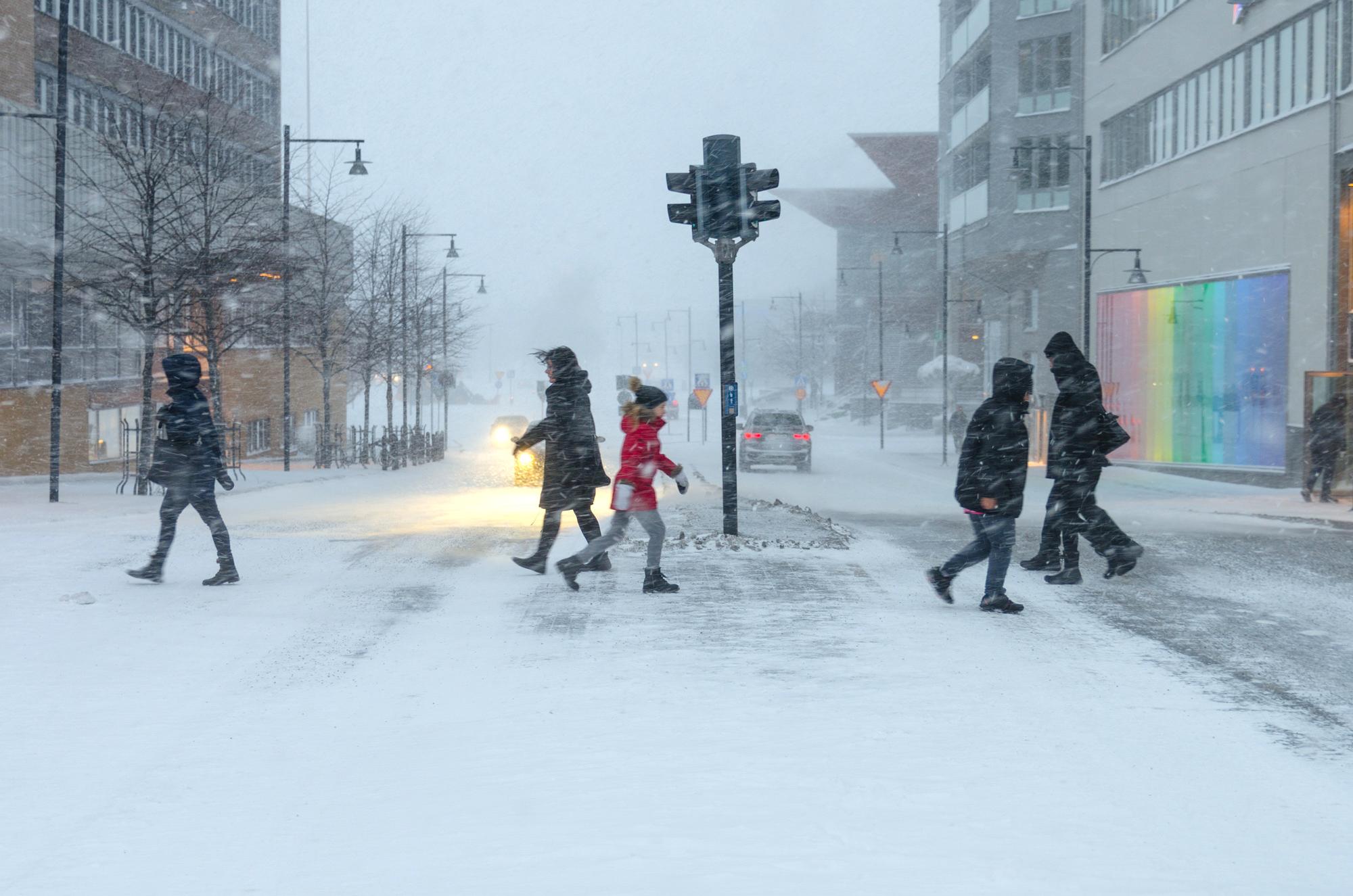 Fullt drag i Luleå igen…