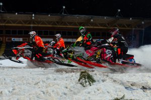 #9 Emil Persson Kalix Motorsällskap Team Kalix Maskiner m fl. Boden Arena Super-X 2017.
