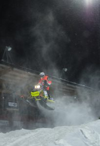 #97 Rasmus Talus-Hjelm, Lofsdalens Skoterklubb Team Lundström Maskin. Boden Arena Super-X 2017.
