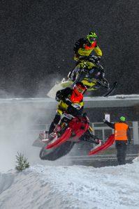 #3 Adam Öhman, Tväråns Intresseförening hoppar. Boden Arena Super-X 2017.