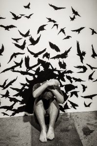"""Fear of reason"" by Yasam Samazer, Havremagasinet. Utställningen METANOIA - Yasam Sasmazer."