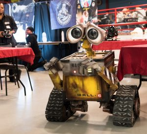 Nordsken 2017. Wall-E kom och hälsade på!
