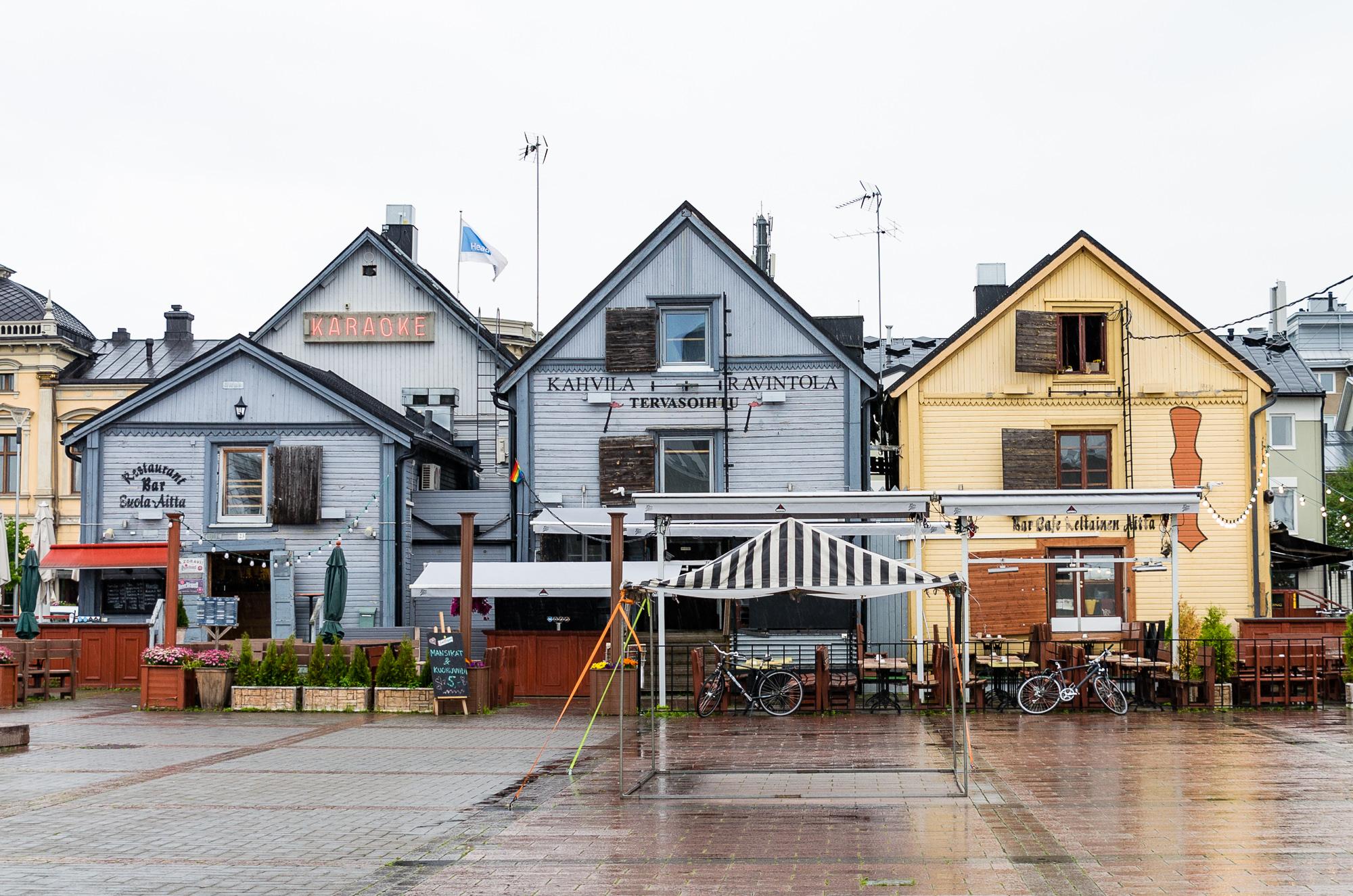 Semester i Uleåborg, Oulu. Ny favoritstad