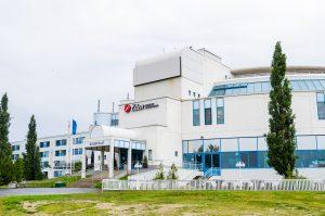 Semester 2017, Uleåborg (Oulo). Hotell Eden.