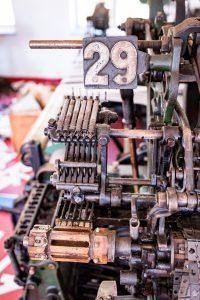 Morjärvs Ullspinneri. Jag hittade maskin 29! Eller betydde 29 något annat än bara maskinnumret?