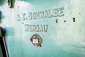 Morjärvs Ullspinneri. G.E.Schwalbe Werdau. Nr 3077