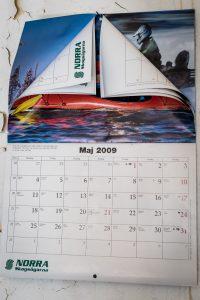 Morjärvs Ullspinneri. Maj 2009 var sista bladet i almanackan. Var det även sista dagen i fabriken?