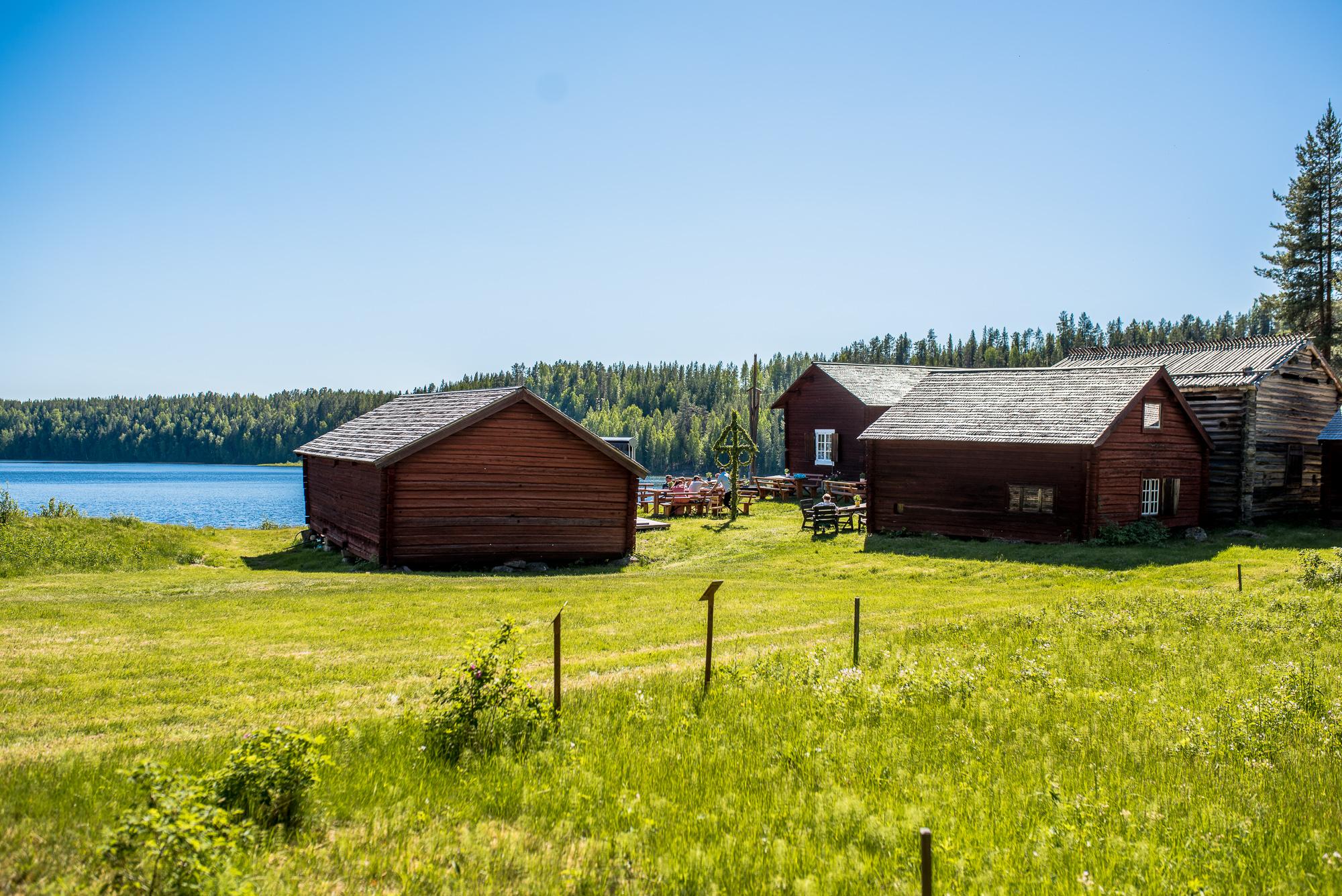 Laxmacka på Laxede Camping