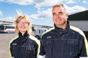 Martin Lindqvist, vd och koncernchef, SSAB och ? p åHybrits invigning på SSAB i Luleå.