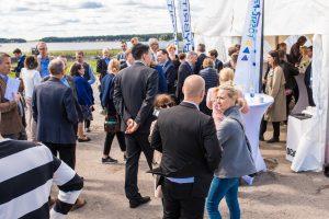 Mingelbilder från Hybrits invigning på SSAB i Luleå.