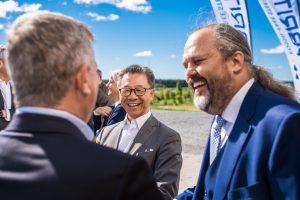 Martin Pei, Teknisk direktör SSAB och Mårten Görnerup vd, Hybrit.