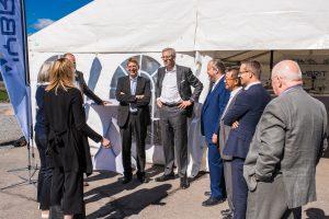 Genomgång av konferencier Karin Lepasoon, SSAB inför Hybrits invigning.