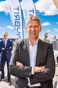 Jan Moström, vd och koncernchef, LKAB på invigningen av Hybrit.