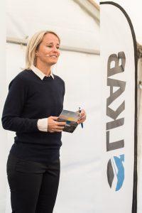 Konferencier Karin Lepasoon, SSAB