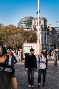 Riksdagshuset i Berlin, gammalt möter nytt, igen!