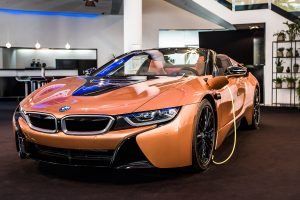 Varför inte en ny BMW I8? Frågade aldrig om priset...