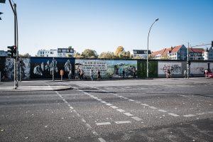 Berlinmuren, Die Berliner Mauer. Helt sjukt byggnadsverk! Just då var det en bra idé...