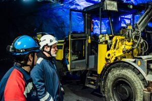 LKAB Infomine, bra överblick över arbetet i LKABs gruva... Och kul att se alla maskiner i verkligheten. Men vilket elände att hålla koll på alla hydraulslangar på traktorn...