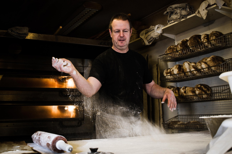 Mikael Lövgren, Bensbyns bageri.