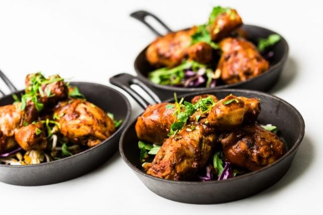 Kyckling. Hjälpte till att fotografera lite mat i Golfrestaurangen i Rutvik, kul och gott.