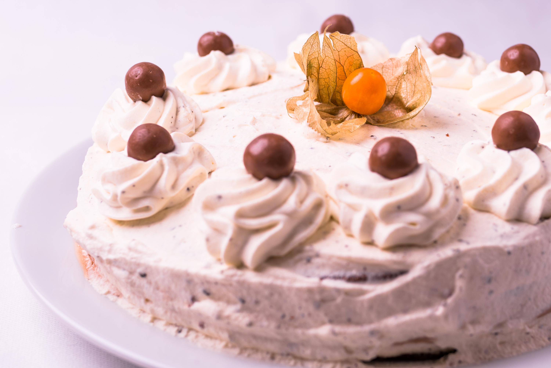 Tårta, aldrig fel.