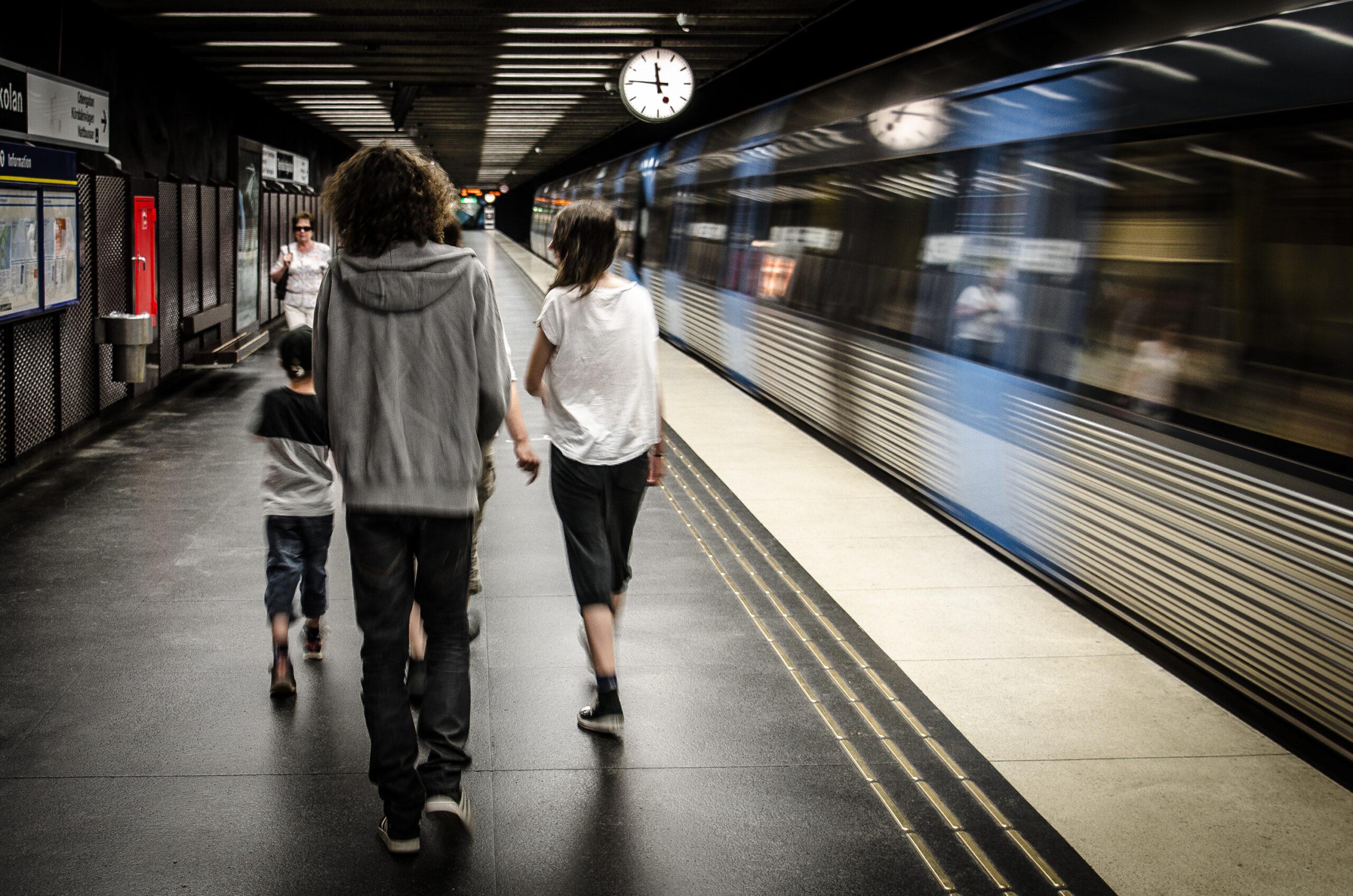 In time. Stockholm.