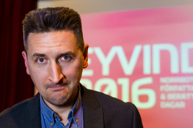 Lars Gyllenhaal, Eyvind 2016, Boden.