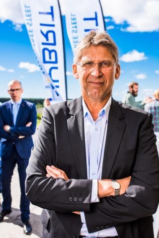 Jan Moström, vd LKAB. Hybrits invigning 2018