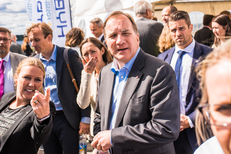 Stefan Löven, Hybrit invigning 2018.