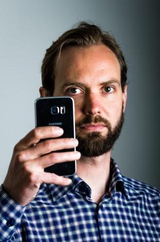 Olov Renberg är en av grundarna till BehaviorSec.