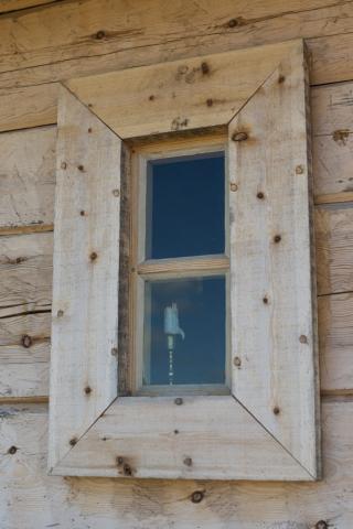 Lite läskigt fönster, väntade bara att någon gammal präst skulle titta ut på mig!