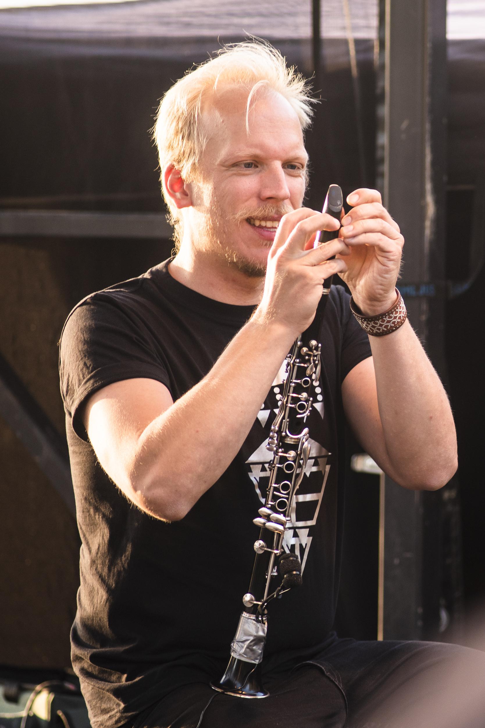Justering av klarinetten, Nikolai Äystö Lindholm, Musikens Makt 2019.