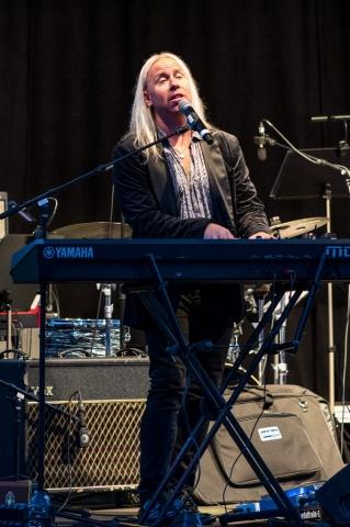 Stefan Gunnarsson och Norrbotten Big Band på Kulturnatta i Boden 2019.