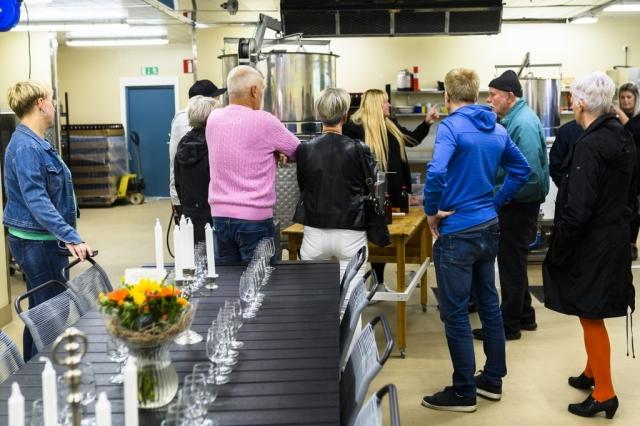 Öppet hus på Tjers Bryggeri i Sävast lockade många besökare!