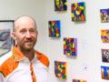 Vernissage och konstutställning i Arvidsjaur