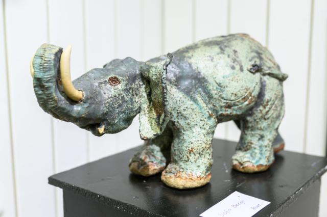 Häftig elefant!