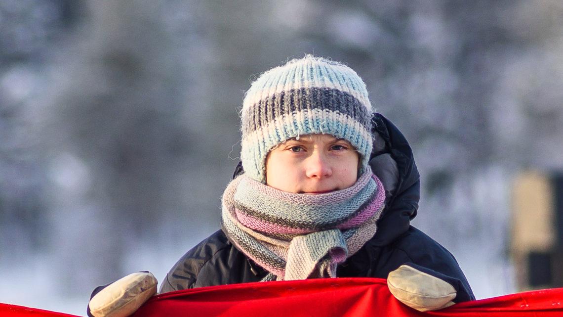 Jokkmokks marknad 2020 med Greta Thunberg