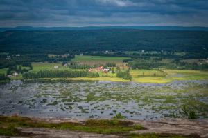 Buddbyn från Öngårdsberget