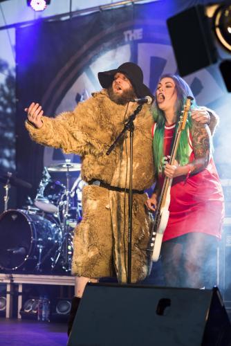 The Baboon Show-4506. Musikens makt Luleå 2018. Underbart band!