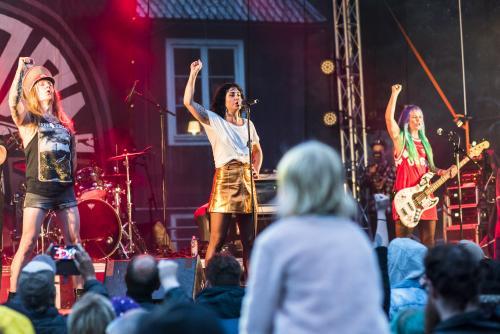 The Baboon Show-4960. Musikens makt Luleå 2018. Underbart band!