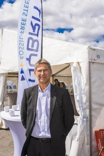 Jan Moström, verkställande direktör och koncernchef, LKAB