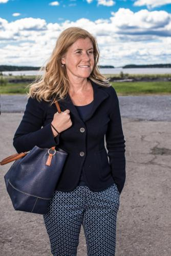Maria Långberg, Executive Vice President, Organisation, kultur och kommunikation, SSAB