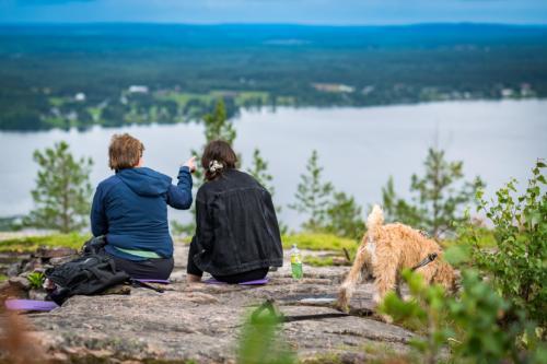 Utflykt till Öngårdsberget. Vidunderlig utsikt!