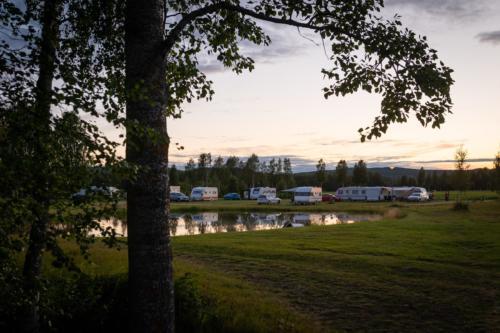Mysigt, Fällfors camping.