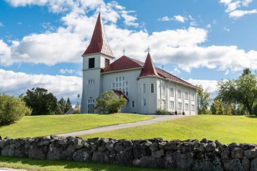 Kyrkan i Fällfors.