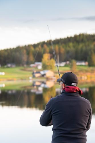 Fullt fokus på fisket!