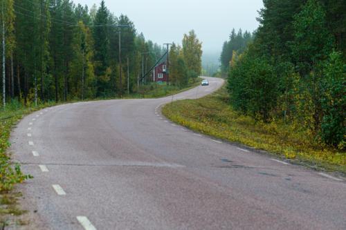 På väg mot Kannusjärvi.