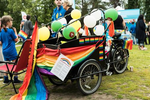 Coolaste fordonet under priden! Luleå Pride 2018.